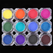 BORN PRETTY Nail Thermal Color Changing Powder Dust UV Gel Gradient Pigment Tips