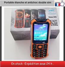 Téléphone VK WOLD STONE V3S  portable étanche ,antichoc double SIM bluetooth