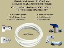 Samsung Fridge Freezer Water 5 METRE Filter Pipe Tubing Hose Connection Kit