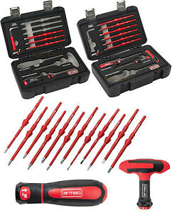 ARMEG SwitchBlade 5 Pce Torque Or 8 Pce Screwdriver Sets, Handles & Spare Blades