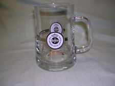 Warsteiner Clear Glass Beer Mug, 0.5 Liter Size, Made in Germany