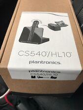 Plantronics CS540/HL10 Wireless Headset System - Black. Brand New In Box