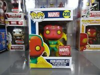 Funko POP! Marvel Collector Corps Avengers Vision #239