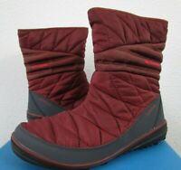 NIB Womens Columbia Heavenly Slip II Omni-Heat Winter Insulated Boots - Rust
