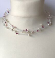 Valero Pearls Damen-Halskette-Collier Süßwasser-Zuchtperle
