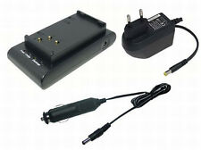 Cargador + Cable de coche para Hitachi VM-BP84 VM-BP84A VM-AC80A, 1 Año Garantía