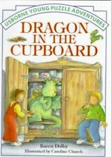 Usborne Young Puzzle Adventures: Dragon in the Cupboard ~ New