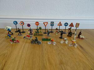 SIKU PLASTIK Figuren Schilder zu Autos Modellauto Modell 70er J. LEGO Reisler