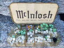 Vintage McIntosh MQ-104 Room EQ Capacitors