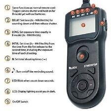 JJC TM-C Timer Remote Control for Canon EOS 60D 500D 550D 600D 1100D RS-60E3