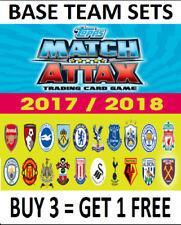 2017-2018 Season Team Set Football Trading Cards