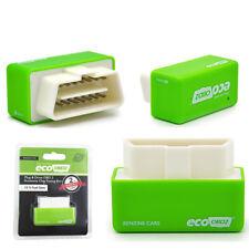 Green Eco OBD2 II Chip Tuning Box Fuel Saver Plug & Drive Tool for Petrol Cars