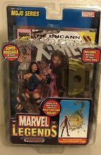 New Marvel Legends Mojo Series Psylocke Toy Biz 30pts  32pg Comic w/Diorama 2006
