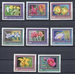 32329) HUNGARY 1971 MNH** Plants - Flowers 8v.