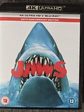Jaws (4K UHD & Blu-ray, 2020) 2-Disc 45th Anniversary Edition.
