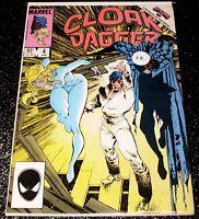 Cloak and Dagger 4 (7.0) Marvel Comics