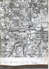 08 Vrigne Vivier Donchery 1897 pt. carte/lin orig. /partie Nouvion Lumes Sapogne