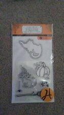 Hampton Art Halloween Clear Stamps - Black Cat SC0729 -#592 -NEW!!