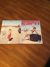 courtney force autograph espn the body issue complete cover 2 for one