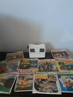 Vintage Viewmaster GAF with Reels Mighy Mouse Mash Globetrotters Bambi Popeye