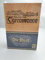 Carcassonne - die Stadt / in Box aus Holz / Holzbox - Spiel - 2004 / Neu & Ovp