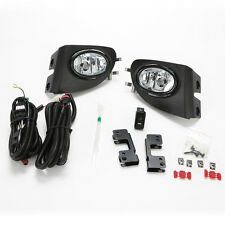 Clear Fog Lights For 2002-2005 Civic Si Hatchback 3Dr w/Bezel Switch Wire EP3