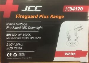 JCC JC94170 WHITE DOWNLIGHT with WARM WHITE 5W LED IP20 NON DIMMABLE