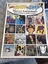 From Aargh! To Zap! Harvey Kurtzmans Visual History Of The Comics 1991 Oversized