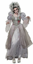 Zombie Never After Dead Princess Womens Adult Halloween Costume-Std