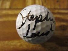 Stephanie Louden Golfer Autographed Signed Top Flite Golf Ball LPGA Tour