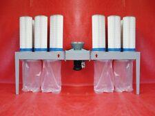 absauganlage späneabsauganlage filteranlage 21000 cbm/h feinstaubfilterpatrone