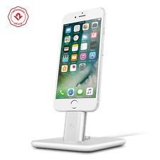 Twelve South HiRise Deluxe V2 Lighting/microUSB Device Charging Stand, Silver
