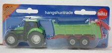 Siku 1673 Deutz Tractor with Strautmann Universal 2-axle Manure Spreader Model