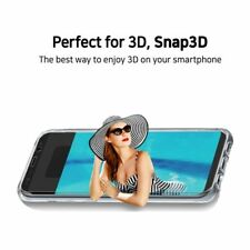 Mopic Snap3D Supple CamFit Crystal Smart Phone Case for Galaxy S8+ Plus