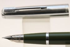 Lined Gold Plate Wing Sung Lucky 2006 Medium Fountain Pen