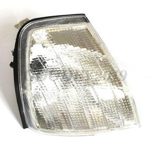 PAIR Corner Light for 1994-2000 MB C-Class W202 Clear Corner Lights Parking Lamp