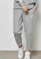 Nike Women's Grey Terry Top Sweatpants Activewear 10020 Size L