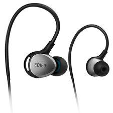 Edifier P281 Sports Isolating Earphones Smartphone Controls & Mic - Black/Silver