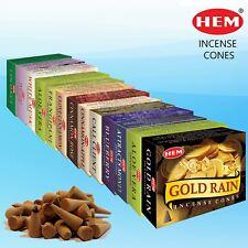 HEM Genuine Incense Dhoop Cones Pack of 1(10 Cones) - Buy 3 Get 1 Free- Add 4 🛒