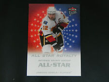 2008-09 Fleer Ultra All Star Royalty #19 Jarome Iginla Calgary Flames