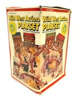 Vintage NASTA Wild West Action Play Set 1980 New in Original Box! Rare & HTF