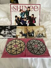 SHINee Dazzling Girl Japan CD & DVD SET WITH group Photocard & Big Cards