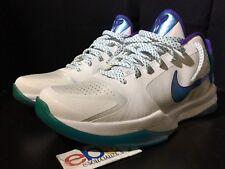 Nike Zoom Kobe V 5 Hornets Draft Day Sz 8.5 Orion Blue 386429-100 Patent 2009