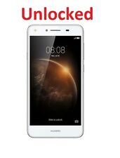 "Unlocked Huawei Y6 Elite 4G+ 5"" White 8MP Quad Core Android 5.1"