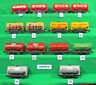 HORNBY DUBLO ASSORTED UNBOXED SHORT TANK WAGONS.  Choose from list