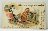 Louis Wain Quite Among Ourselves 1904 Write Away Series Postcard J6