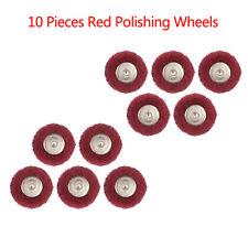 20 Pièces polisseuses Tampons abrasif Scotch Brite roues mixte Set 3 mm tige