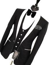 BNWT Para Hombre D&G Dolce & Gabbana Martini Noche Cena 3 Piezas Traje Smoking 38R W32
