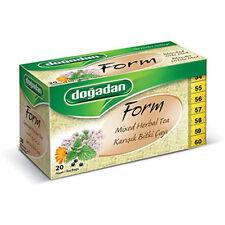 Dogadan Premium Form Mixed Herbal Tea (5 boxes / 100 teabags) UK Seller