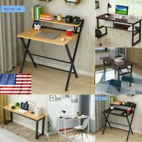 Simple Folding Study Desk Home Office Table Lazy Laptop Computer Writing Desktop